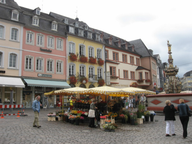 Trier, Germany market square