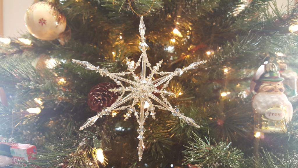 Estrella star ornament