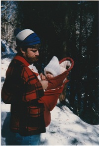 David and Baby Rachel