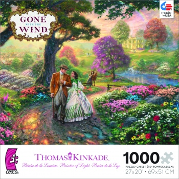 Thomas Kincade Gone with the Wind puzzle