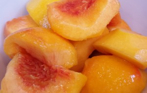 Suncrest peaches for marmalade