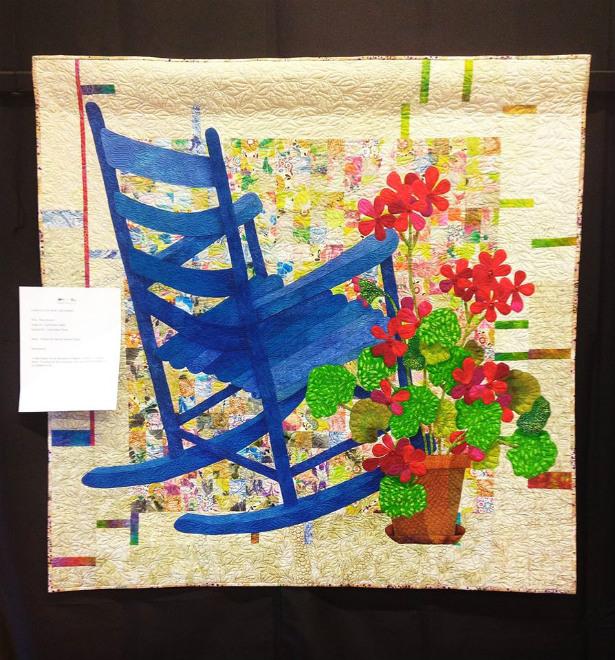 blue chair quilt_Denise Watson image