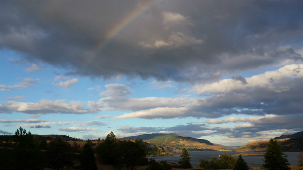Catherine Creek Rainbow