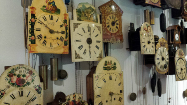 Black Forest Museum clock wall